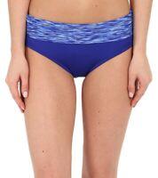 TYR Womens Swimwear Colour Block Sonoma Active Banded Bottom Velvet Size L