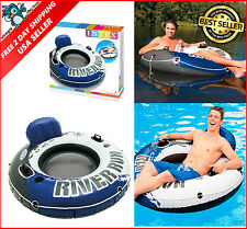 "Intex Inflatable Water Float 53"" Summer Swimming Pool River Lake Floatie Lounge"