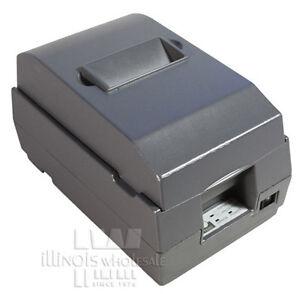 Epson TM-U200B POS Printer Auto-Cut, Micros IDN Interface, Dark Grey