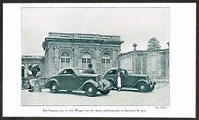 1930s Vintage 1935 201 301 Peugot Classic Car Auto Automobile Photo Print