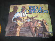1994 Blue Chicago (Painting by John Carroll Doyle) (Sm) T-Shirt