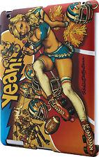 Rockin Jelly Bean Cheerleader Apple iPad Case (fits iPad 2, 3 & 4)