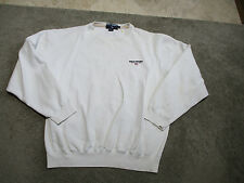 VINTAGE Ralph Lauren Polo Sport Sweater Adult Large White Spell Out Mens 90s S