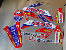 TEAM HONDA LUCAS OIL PTS  GRAPHICS CRF450 CRF450R 2005 2006 2007 2008
