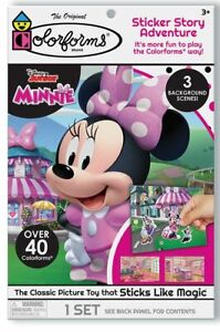 Minnie Mouse Disney Colorforms Fun Pack Game Sticker Story Adventure Play Set