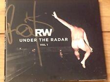 ROBBIE WILLIAMS SIGNED CD UNDER THE RADAR VOL 1 - COA PROVIDED