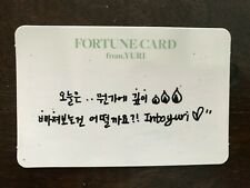 Girls Generation SNSD Yuri Fortune scratch card Into Yuri fanmeet kpop #26K