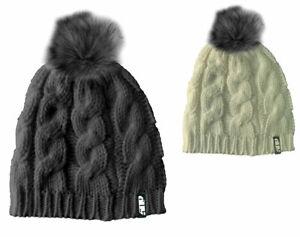 509 Women's Fur Pom Beanie