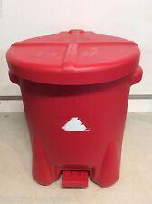 EAGLE 943 BIO BIOHAZARD RED WASTE CONTAINER 7 GALLON MILITARY GRADE NEW IN BOX