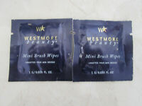 WESTMORE BEAUTY MINI BRUSH WIPES LOT OF 2 SEE DETAILS