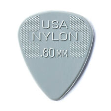 Jim Dunlop Nylon Standard  Guitar Picks - 0.60mm Gauge 12 Pack Plectrums