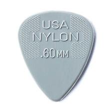 Jim Dunlop Nylon Standard  Guitar Picks - 0.60mm Gauge 12 Pack Plectrums