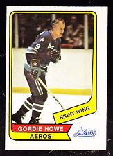 1976-77 O-PEE-CHEE WHA #50 GORDIE HOWE AEROS