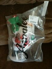 """Annalee Christmas Silver Sparkle 9"""" SANTA NEW In Bag c2013 On Stand"""