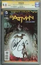 Batman #22 SS CGC 9.8 Double Cover 2X Auto Snyder & Capullo Variant