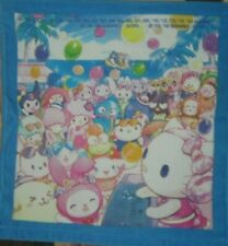 Sanrio Little Twin Stars Pochacco Kuromi Ahiru Melody Hand Towel (34*34cm)