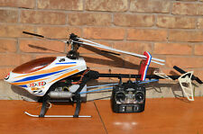 JS TZ30-50 3D Nitro Helicopter Th Tiger Raptor30 Clone Complete ARF NEW Condion.