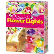 4M Origami Flower Lights - with 10 colour changing LEDs - Crafts for Children
