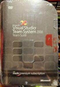 Microsoft Visual Studio Team System 2008 Team Suite + MSDN Premium Subscription