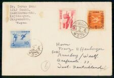 Mayfairstamps Japan 1950s Okayamaken Commemoratives Cover to Germany wwf47059