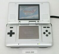 Nintendo DS Original console Silver Working condition Region Free /1910-200
