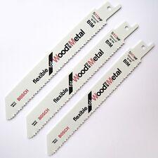Bosch KEO / Florabest Blades Reciprocating Garden Sabre Saw WOOD+METAL 3x S922HF