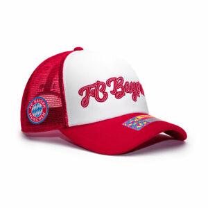 Bayern Munich Retro Trucker Baseball Hat Fan Ink Officially Licensed