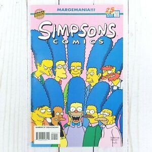 Simpsons Comics #25 Bongo Comics 1996 Bart Simpson, Homer Simpson, Bill Morrison