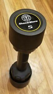 GOLD'S GYM SHOCK WAVE 5 LB SHAKE DUMBBELL