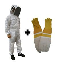 Beekeeping Bee Suit Ventilated Ultra Breathable 3 Layer Mesh Suit Bundle - 3XL