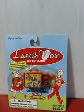 Lot of 3 Lunch Box Keychains NIP Happy Days, Beverly Hillbillies, Get Smart