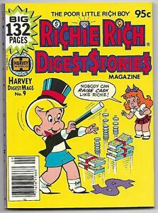 Richie Rich Digest Stories #9 (Harvey, 1981) – Casper – Hot Stuff – NM-