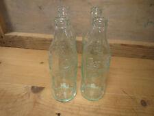Lote de 4 antiguas botella 25cl COCA COLA vintage decorado años 1970 old