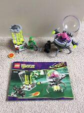 Lego tennage Mutant Ninja Turtles Set 79100 Kraang Lab Escape Jeu Complet
