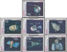 Nicaragua 2816-2822 (kompl.Ausg.) postfrisch 1987 Raumsonden und Satelliten