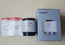 Canon EF 2x Mark III 3 Extender Teleconverter Tele-Converter - Clean! (USA)