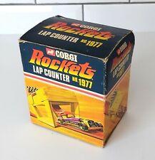 Corgi Rockets Lap Counter No. 1977, Boxed, Nice Condition