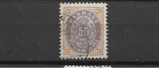 1875 USED Denmark Mi 30 I Y B perf 12 3/4