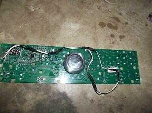 MAYTAG BRAVOS WASHER USER CONTROL BOARD W10268921   FROM MODEL MVWB300WQ1