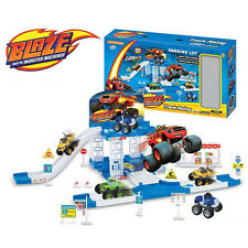 Hot Blaze&the Monster Machines Vehicles Racer Car Truck Parking Lot Kid Xmas Toy