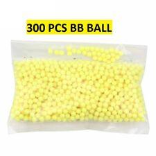 300 Billes BB Pistolet à bille en Plastique 6 mm BB ball Airsoft Recharge Spring