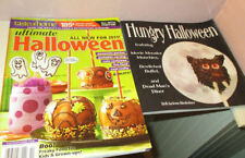 Hungry Halloween Party Recipe Book w/ Taste of Home Halloween Recipes Magazine