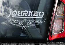 Journey - Car Window Sticker - Rock Music Band Decal Scarab Beetle Sign - V02