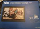 NIX Advance 8 Inch USB Digital Photo Frame - HD IPS Display X08G Brand New
