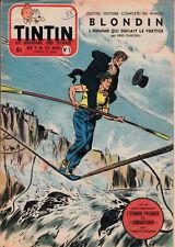 Tintin n°9 1955 avec EA Le secret de l'homme en noir H.Vernes (Bob Morane)