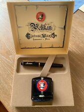 Vintage Pelikan M150 Fountain Pen Original Box Ink Bottle