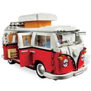 NEU 1332 PCS VW Bully T1 Campingbus Creator Expert Building Block Geschenke Gift