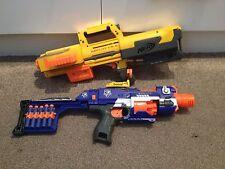 Nerf N-strike  Stockade and Deploy CS-6 Guns + SIGHT & AMMO CLIP (B)
