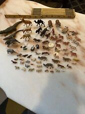 Used Animals Plastic/other Misc Ho Vintage Lot of 67 pc