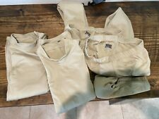 2 pairs ABU sand long underwear/thermals large